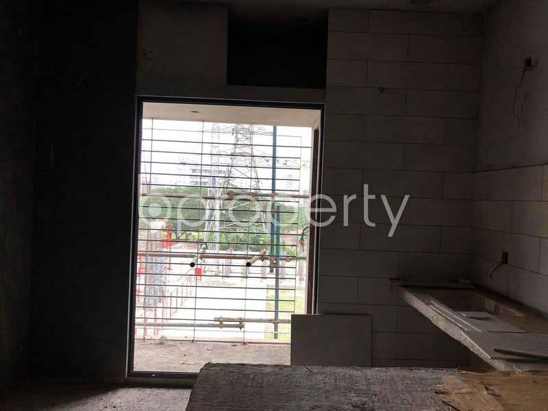 Ready Flat For Sale In Bashundhara R/a Nearby North South University