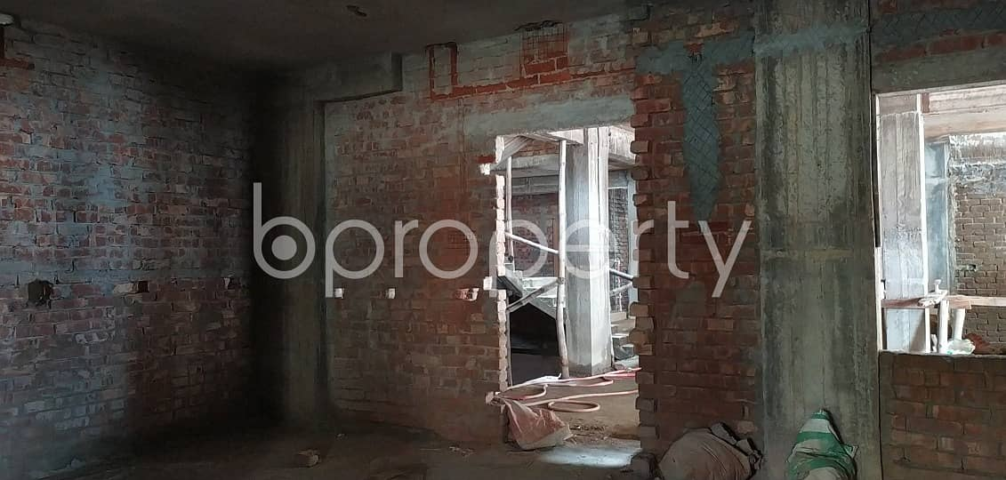 Worthy 1170 SQ FT Residential Apartment is for sale at Uttar Badda