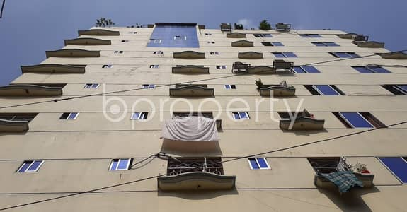 3 Bedroom Apartment for Rent in Hatirpool, Dhaka - A Well-constructed And Nicely Planned Flat Of 1260 Sq Ft Is Vacant For Rent In Hatirpool
