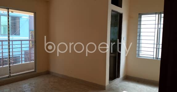 3 Bedroom Flat for Rent in 7 No. West Sholoshohor Ward, Chattogram - Nice And Comfortable 1280 Sq Ft Flat Is Up For Rent In West Sholoshohor
