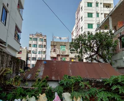 Plot for Sale in Badda, Dhaka - 10.5 Katha Plot is now available for sale in Nurer Chala