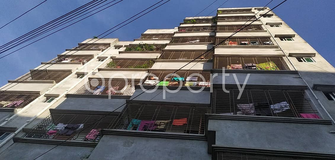 Everything You Need In A Home Is All Right Here In This Uttar Badda Flat which Is Up For Sale Close To Uttar Purba Badda Government Primary School