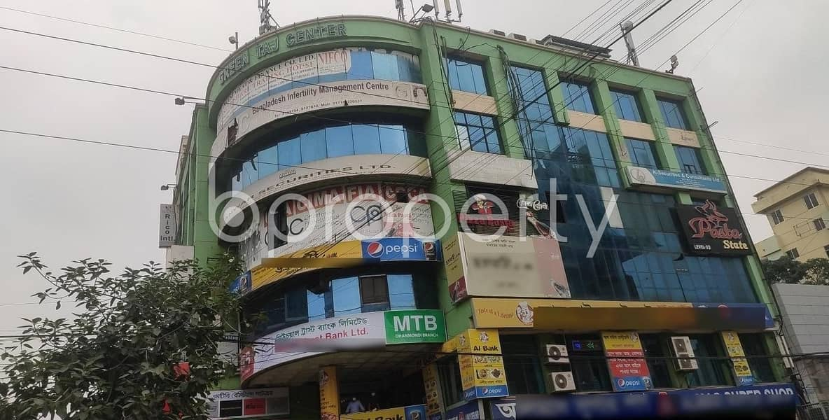 Ample Office Of 1700 Sq Ft Is Available For Rent In Dhanmondi Nearby Junior Laboratory High School