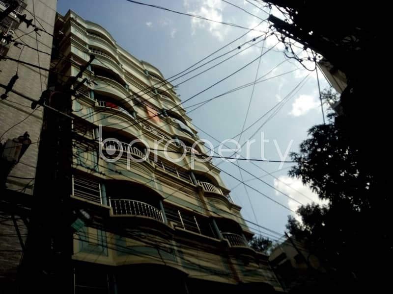 Reside Conveniently In This Well Constructed Flat For Rent In Sugandha Residential Area