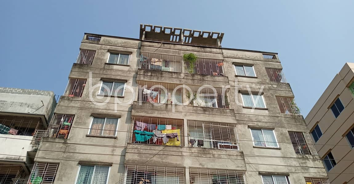 This 720 Sq Ft Commercial Apartment Is For Rent At Mirpur 11.