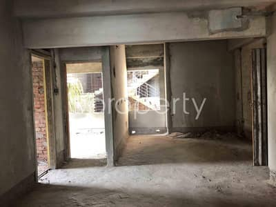 3 Bedroom Apartment for Sale in Dakshin Khan, Dhaka - 1370 Sq Ft Fine Flat Is Now For Sale Which Is In South Mollartek