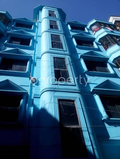 2 Bedroom Flat for Sale in Gazipur Sadar Upazila, Gazipur - A 650 Sq Ft Well Fitted Residential Property Is On Sale In Dattapara Tongi.