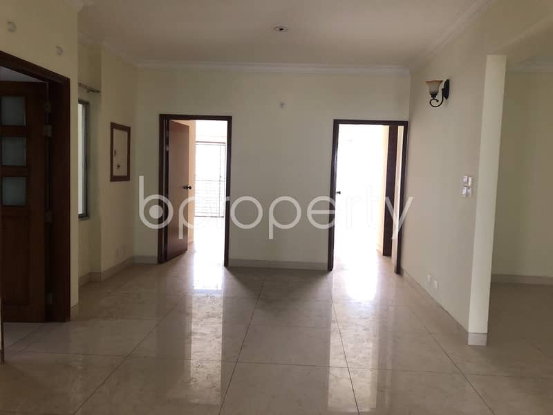 An Apartment Up For Sale Is Located At Bashundhara R-A, Near To Eastern Bank Limited