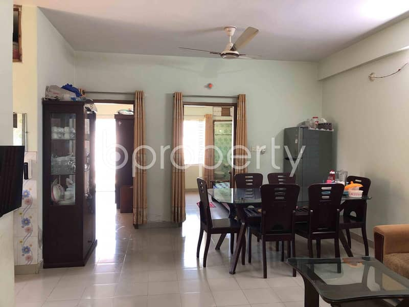 Comfortable, Convenient And Well Constructed 1350 Sq Ft Flat For Sale In Dakshin Khan, Near Milestone School