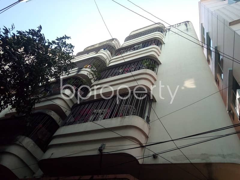 Wonderful Flat Covering An Area Of 1450 Sq Ft Is Available For Rent In Sugandha R/a