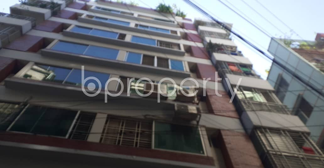 A Convenient 1200 Sq Ft Residential Flat Is Prepared To Be Rented At Jamal Khan