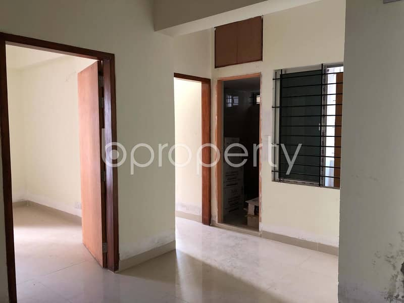 A Modern Apartment In Bashundhara R-A Near North South University Is Up For Sale
