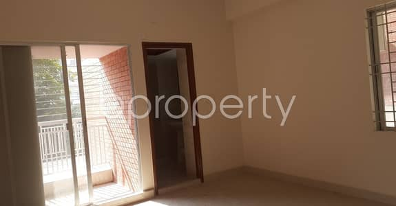 3 Bedroom Apartment for Rent in Bashundhara R-A, Dhaka - Well Organized Flat Of 2200 Sq Ft Is Vacant For Rent In Bashundhara R-a Block D.