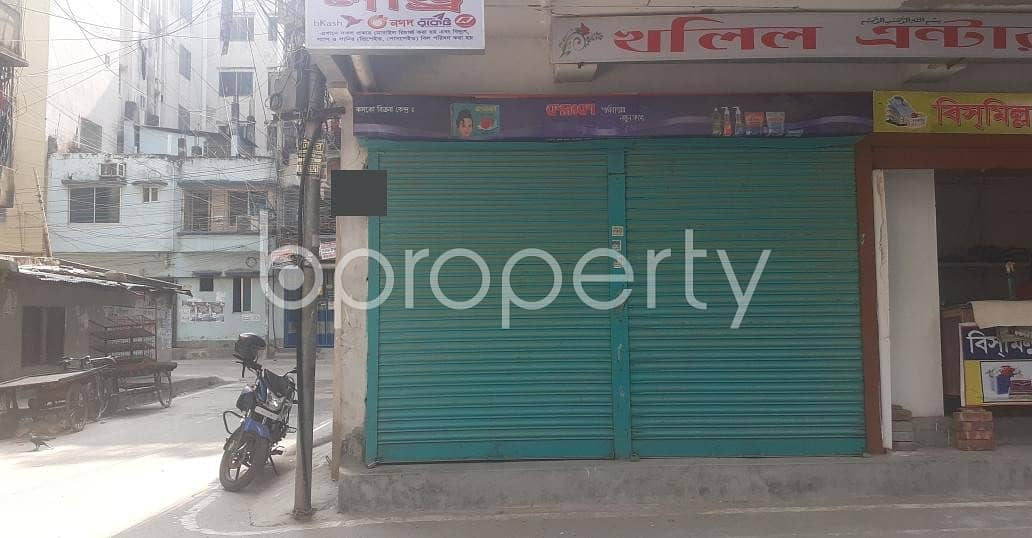 This Nice 150 Square Feet Shop Is For Rent In Madrasha Road, Mohammadpur