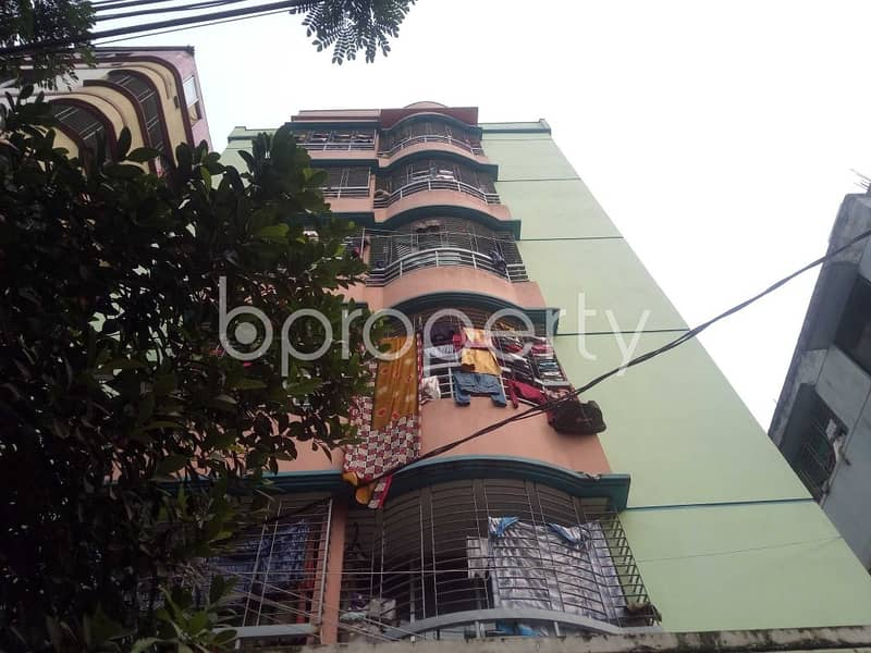 A Convenient 1000 Sq Ft Residential Flat Is Prepared To Be Sold At Uttar Badda