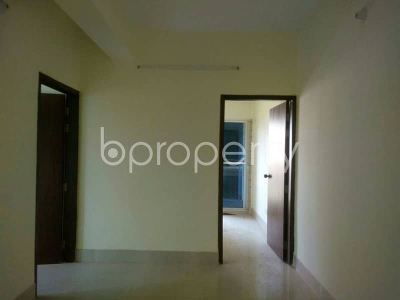 A very beautiful 1200 SQ FT flat is now available for rent in Khulshi, Road No 7