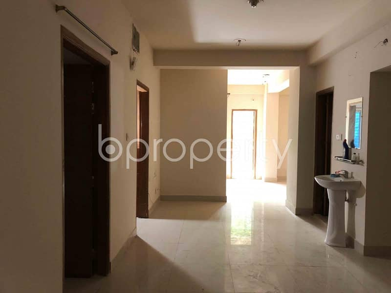 Ready 1200 Sq Ft Flat Is Now For Sale In Bashundhara R-A, Block D