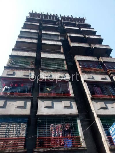 2 Bedroom Apartment for Sale in Gazipur Sadar Upazila, Gazipur - A Well-maintained Residence Of 800 Sq Ft Is Prepared For Sale In Tongi