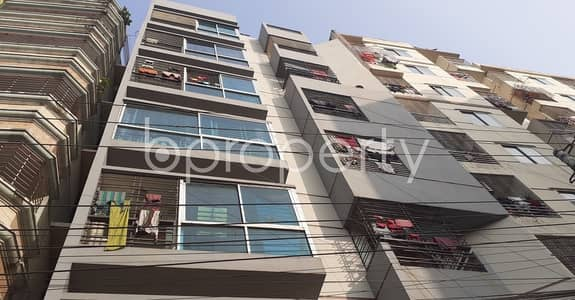 3 Bedroom Apartment for Rent in Dakshin Khan, Dhaka - Be the occupant of this 1100 SQ FT residential apartment vacant for rent at Ashkona