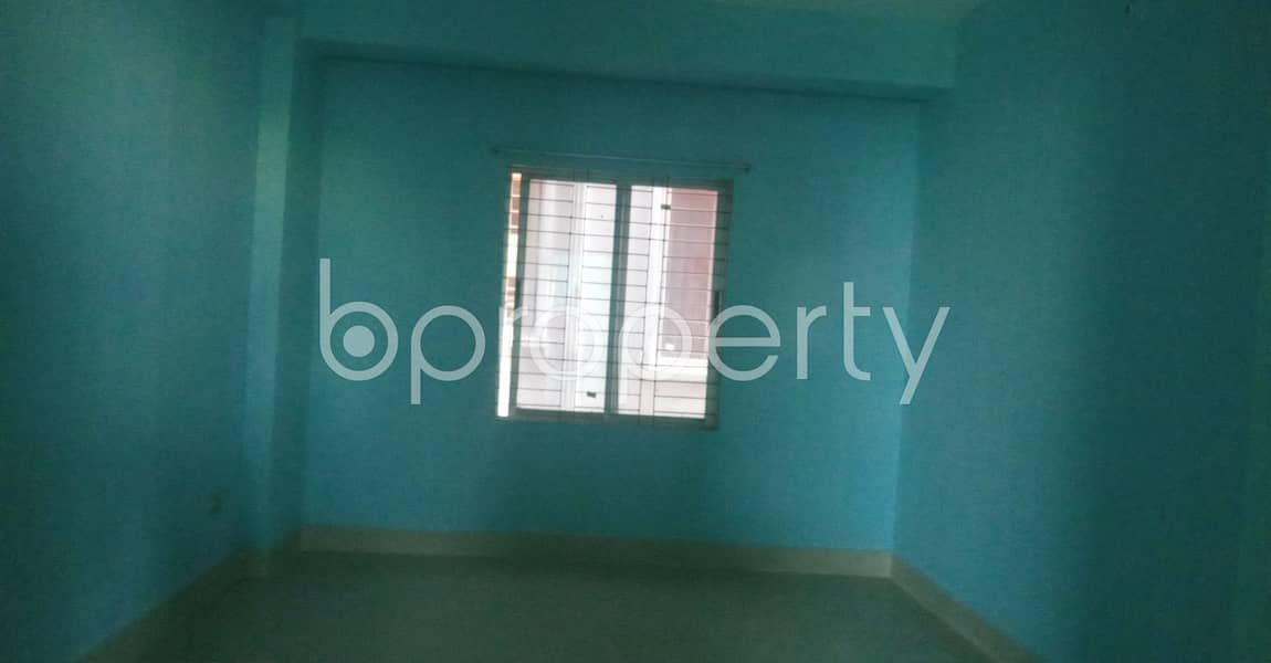 In This Serene Neighborhood Of Dakshin Kattali , A 1100 Sq. Ft Flat Is Vacant For Rent.