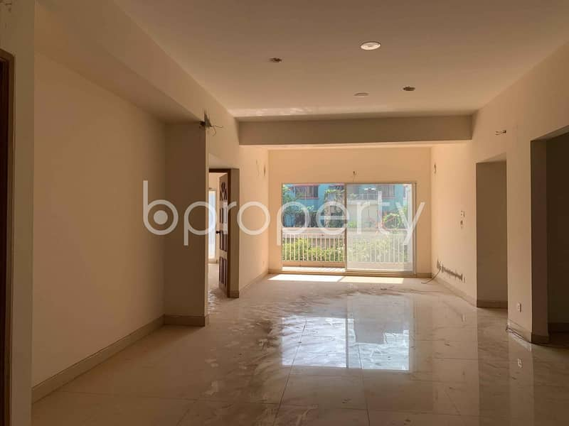 Spacious Apartment With A View Is Up For Sale In Uttara-6.
