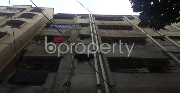 2 Bedroom Apartment for Rent in Dhanmondi, Dhaka - Beside To YWCA Higher Secondary Girls' School A Standard 750 Sq. Ft Flat Is For Rent