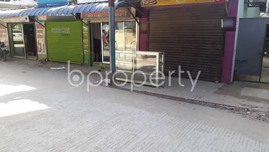 ভাড়ার জন্য এর দোকান - হালিশহর, চিটাগাং - 100 Sq Ft Shop Space For Rent Near Halishahar Housing Estate High School At 26 No. North Halishahar Ward