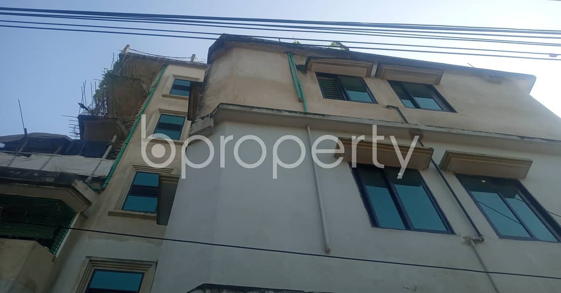 Residence for renting purposes is available in 38 No. South Middle Halishahar, with a space of 630 SQ FT