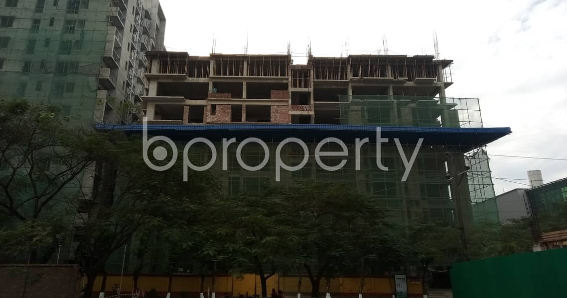Available Residential Apartment Near Baitul Jannat Jame Mosque In Bashundhara R-A Is Up For Sale