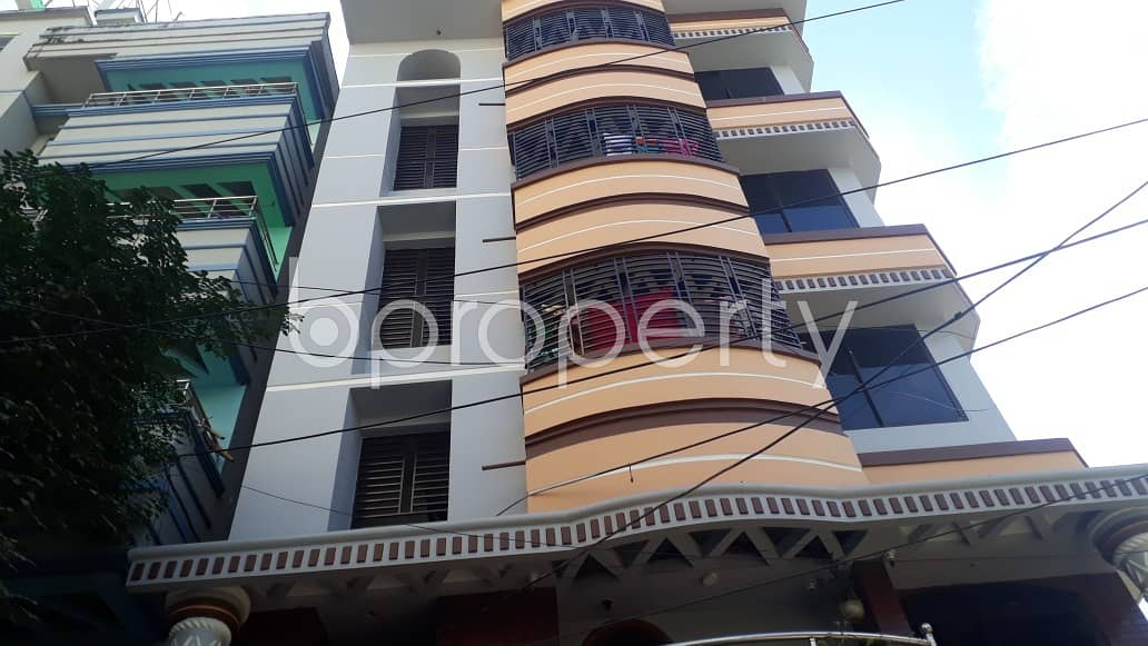 500 SQ FT ready apartment is now for rent in 26 No. North Halishahar Ward