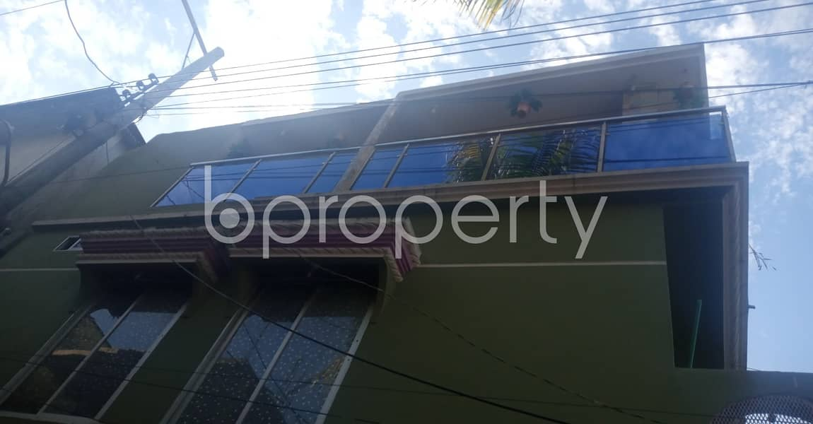 Located at 38 No. South Middle Halishahar, 600 SQ FT residential flat is quite accessible for owning