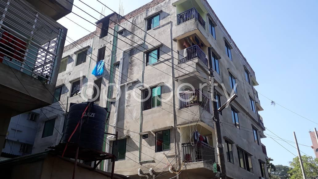 Located at Halishahar Ward, 700 SQ FT residential flat is quite accessible for owning
