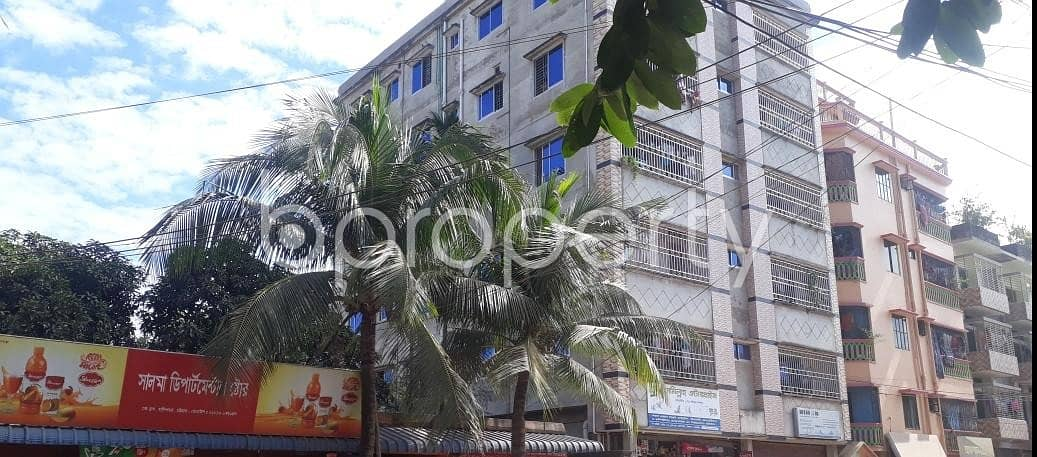 Available In Halishahar Housing Estate, A 900 Sq. Ft Apartment For Rent.