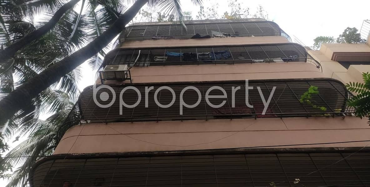 See This Office Space Of 1150 Sq. Ft Is For Rent Located In Kalabagan Beside To Lake Circus Girls' High School.