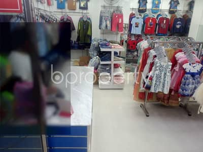 145 Sq. Ft. shop space is available for sale in Uttara nearby Union Bank Limited
