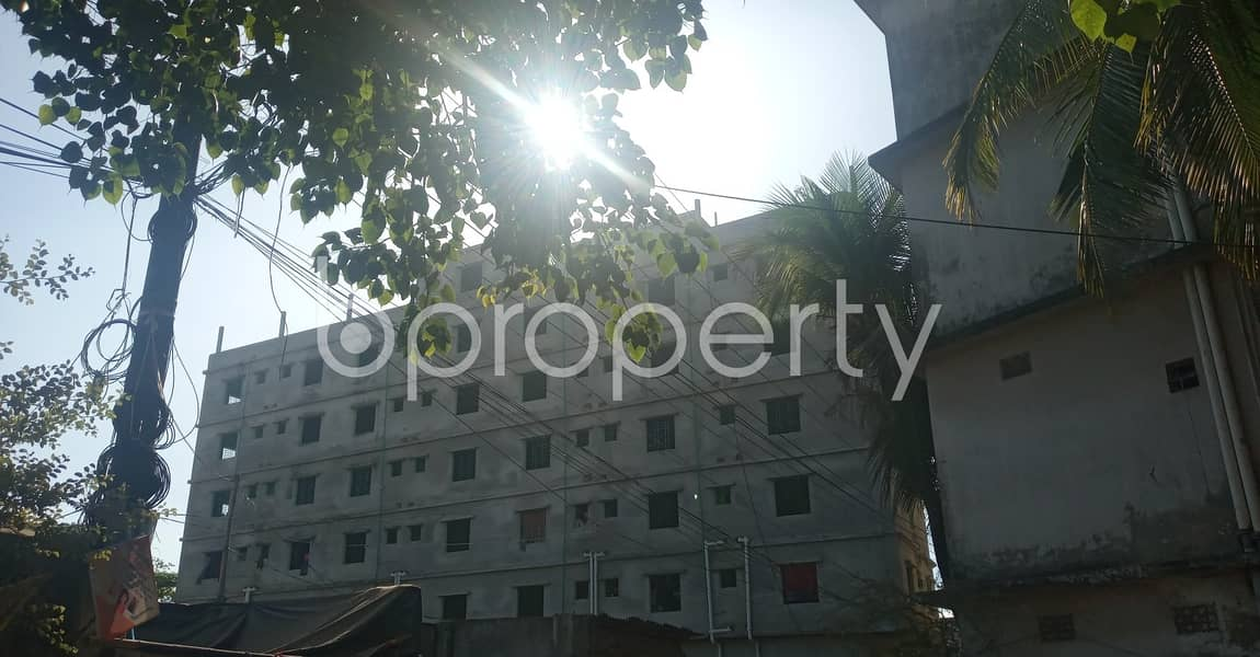 Take rent of a nicely done 500 SQ FT residential apartment located at Halishahar