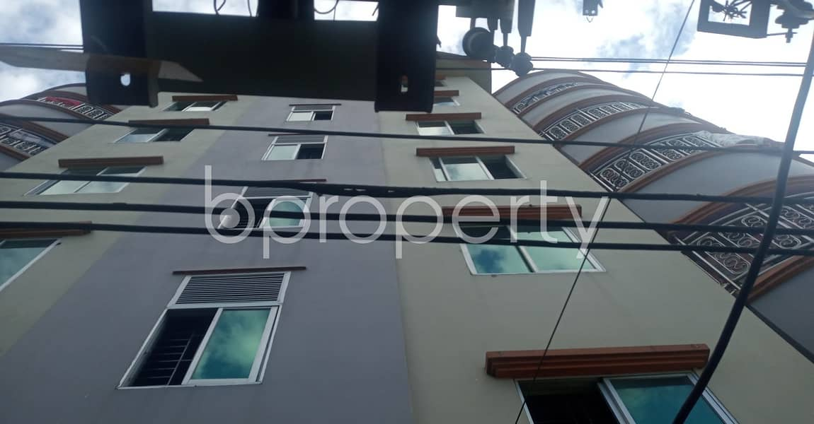 Nice Living Space Of 500 Sq Ft With Reasonable Price Is For Rent In South Halishahar
