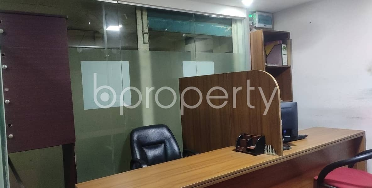 340 Sq Ft Commercial Office Is Available For Rental Purpose In Green Road, Kathalbagan.