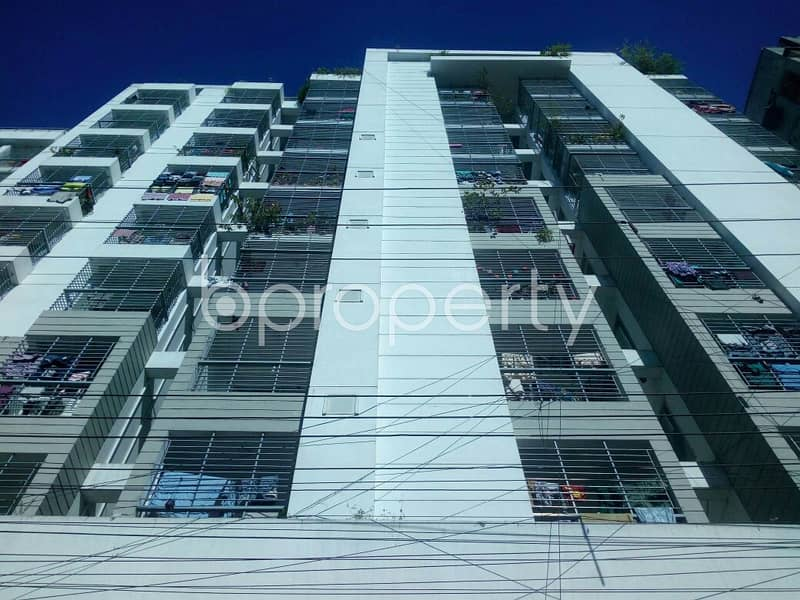 Properly Designed This 1655 Square Feet Apartment Is Now Up For Sale In 14 No. Lalkhan Bazaar Ward.