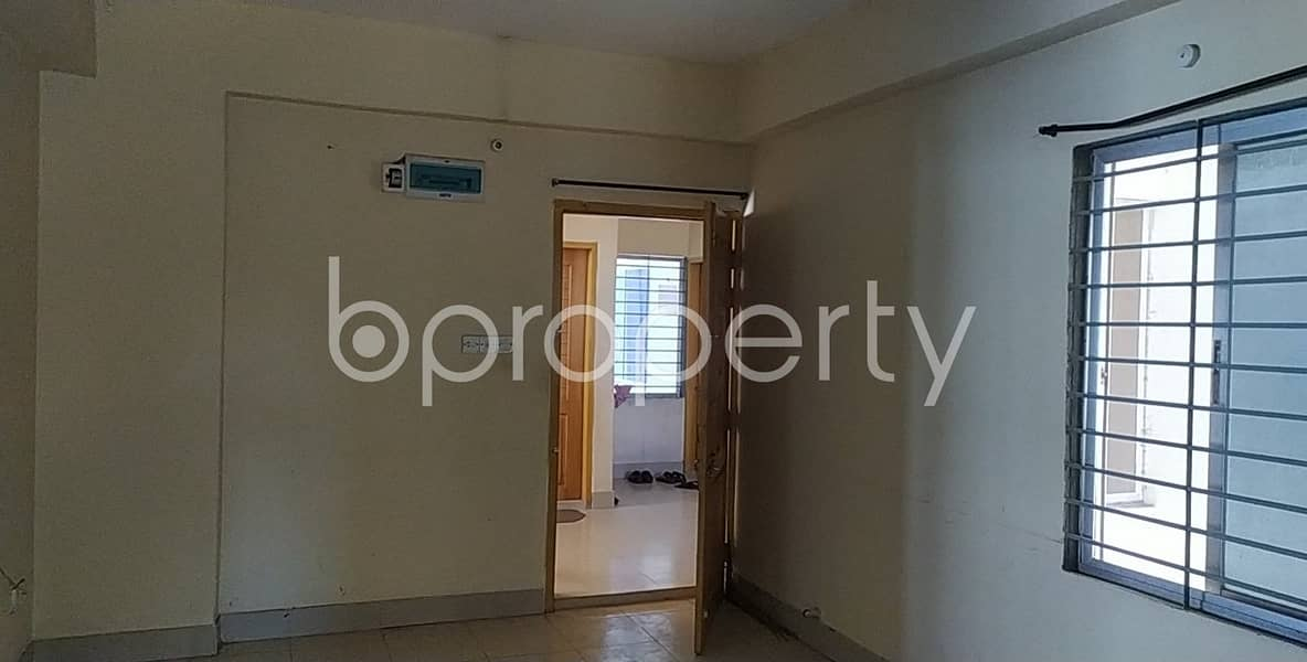 An Artistic Apartment Of 1000 Sq Ft Is Waiting For Rent In Hill View R/a