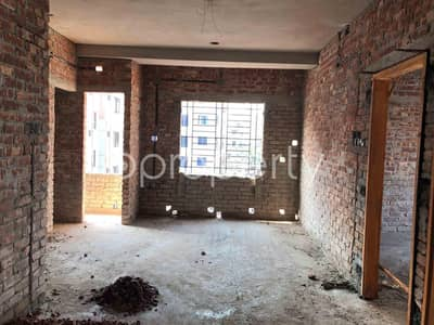 3 Bedroom Apartment for Sale in Maghbazar, Dhaka - A Nicely Planned 950 Sq Ft Flat Is Up For Sale In Mirbag Notun Rasta