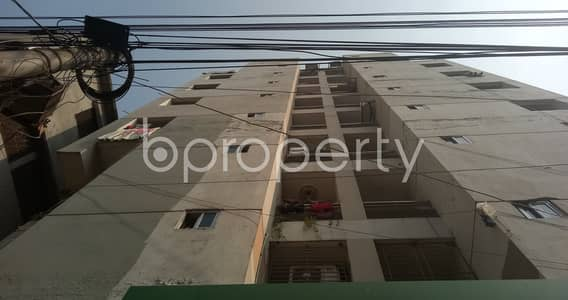 3 Bedroom Apartment for Rent in Dhanmondi, Dhaka - This suitable 900 SQ FT residential home is waiting to get rented at Dhanmondi, Jhigatola Road