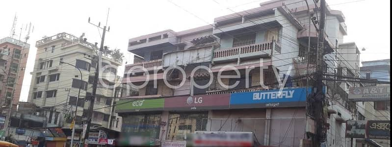 Office for Rent in Halishahar, Chattogram - In The Location Of Halishahar Housing Estate An Adequate Office Is For Rent.