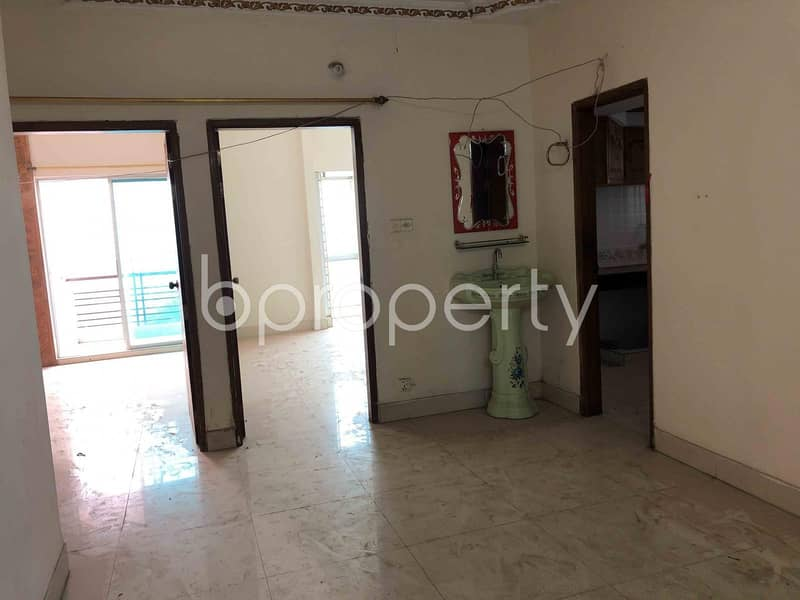 We Bring You An Excellent Flat Of 1100 Sq Ft For Sale In Ashkona