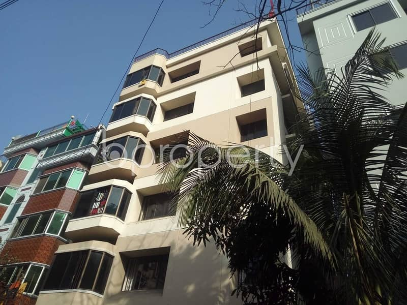 Wonderful Flat Covering An Area Of 850 Sq Ft Is Up For Rent In Sugandha Residential Area