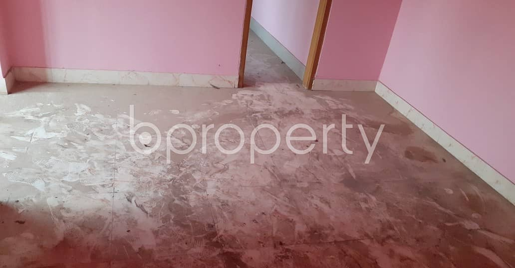 This 900 Sq Ft Flat For Rent Is Completed With A Great Floor Plan In The Location Of Firingee Bazaar