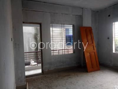 Reside Conveniently In This Well Constructed 1100 Sq. Ft Flat For Sale Beside To Sahajuddin Sarkar Model School And College In Dattapara