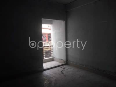We Have A 1100 Sq. Ft Flat For Sale Very Near To Sahajuddin Sarkar Model School And College.