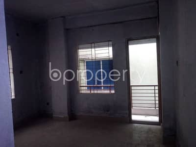 A Reasonable 1100 Sq. Ft And 3 Bedroom Flat Is Available For Sale In Tongi Near To Sahajuddin Sarkar Model School And College.