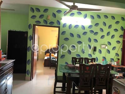 3 Bedroom Apartment for Sale in Maghbazar, Dhaka - Properly Constructed 1482 Sq Ft Flat Is Available For Sale In Maghbazar, Shaheed Tajuddin Ahmed Ave